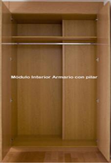 Armarios modulares - Modulos interior armario ...